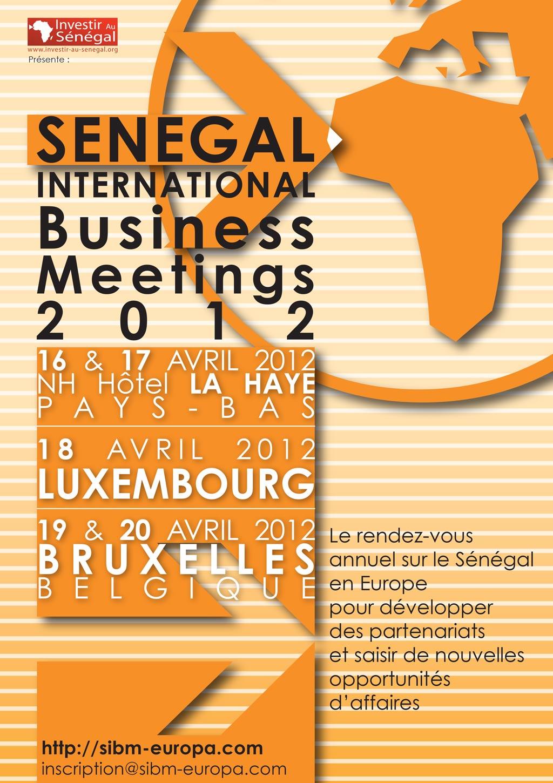 Sénégal International business meeting